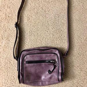 Nicole Miller Purple Crossbody Handbag